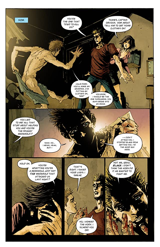 click for super-sized previews of The Pack #3