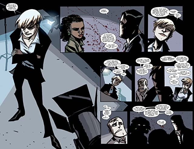 click for super-sized previews of Powers (2009-2012) #8