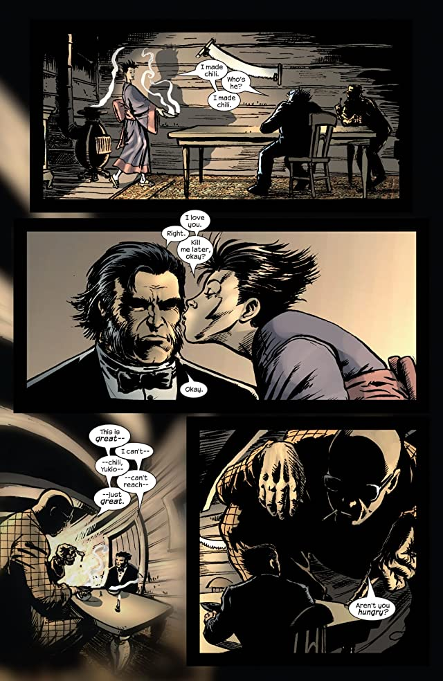 click for super-sized previews of Wolverine (2003-2009) #12