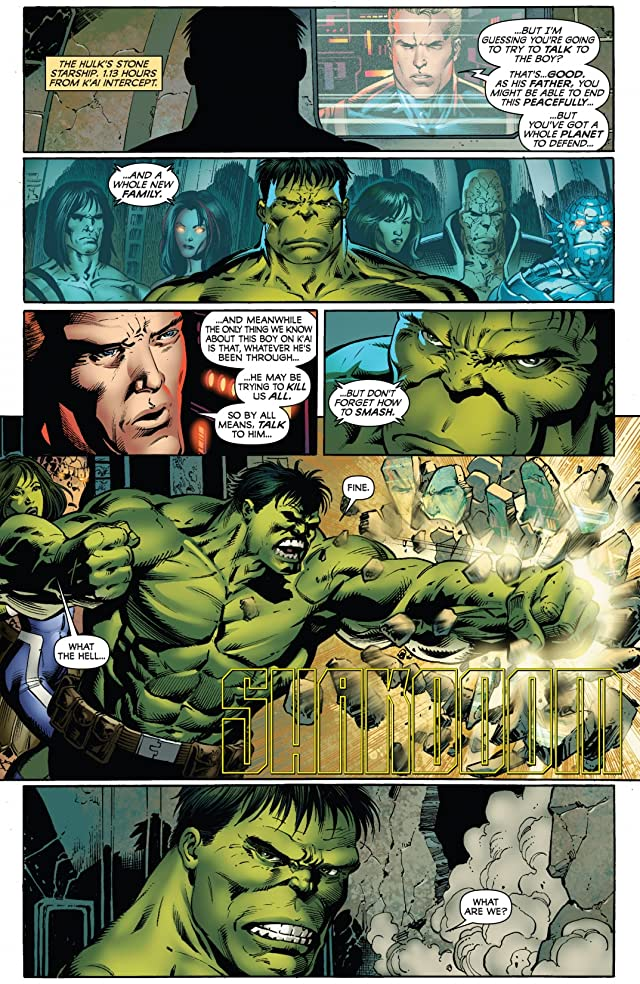 click for super-sized previews of Incredible Hulks (1999-2008) #615
