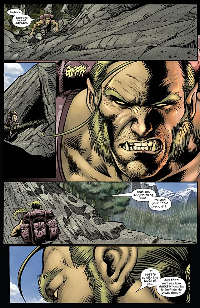 click for super-sized previews of Wolverine (2003-2009) #16