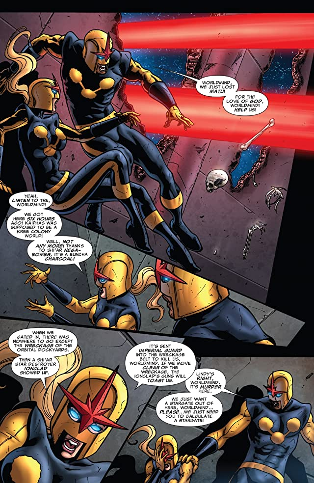 click for super-sized previews of Nova (2007-2010) #26