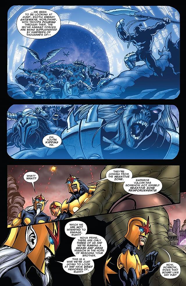 click for super-sized previews of Nova (2007-2010) #27