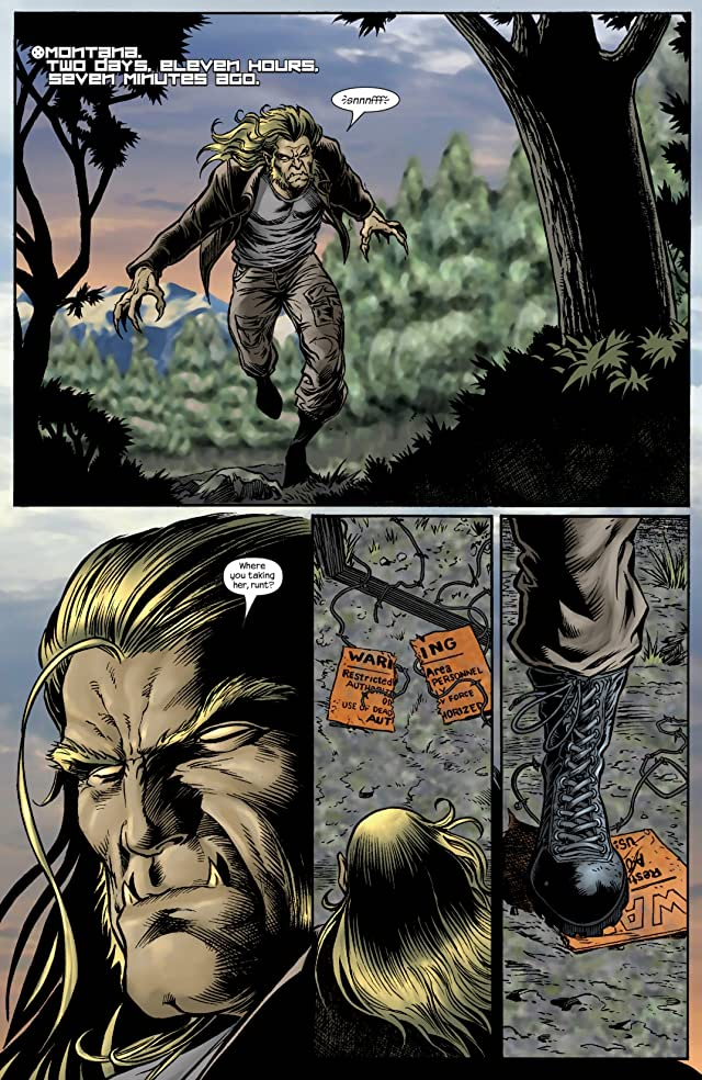 click for super-sized previews of Wolverine (2003-2009) #19