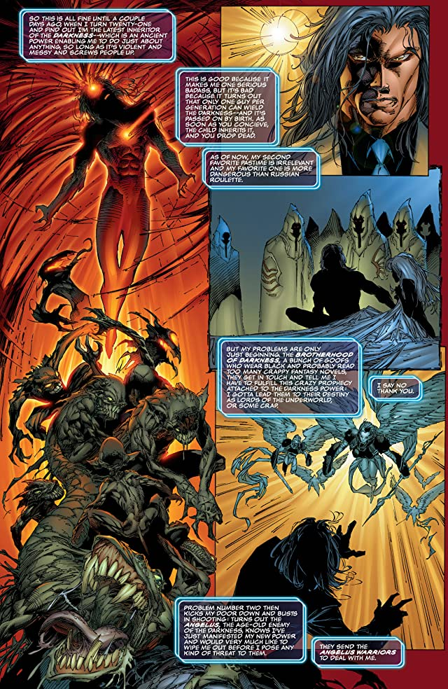 click for super-sized previews of The Darkness: Origins Vol. 1