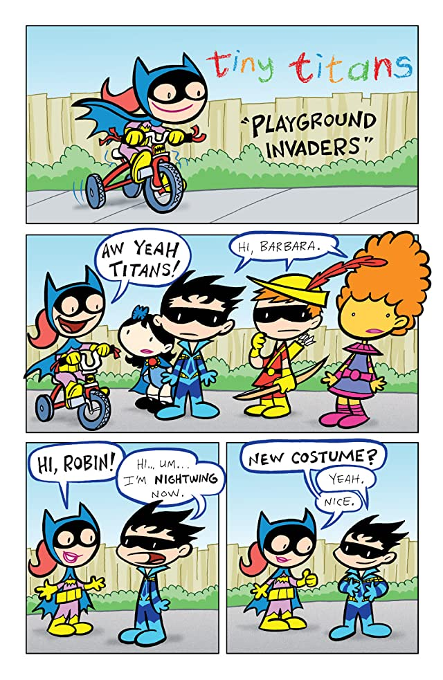 click for super-sized previews of Tiny Titans #5
