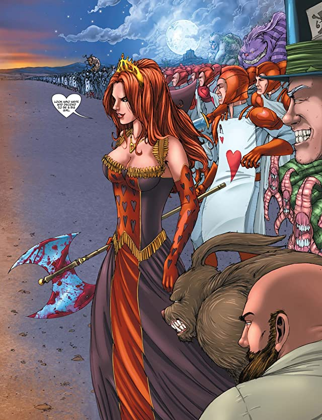 click for super-sized previews of Alice In Wonderland #6