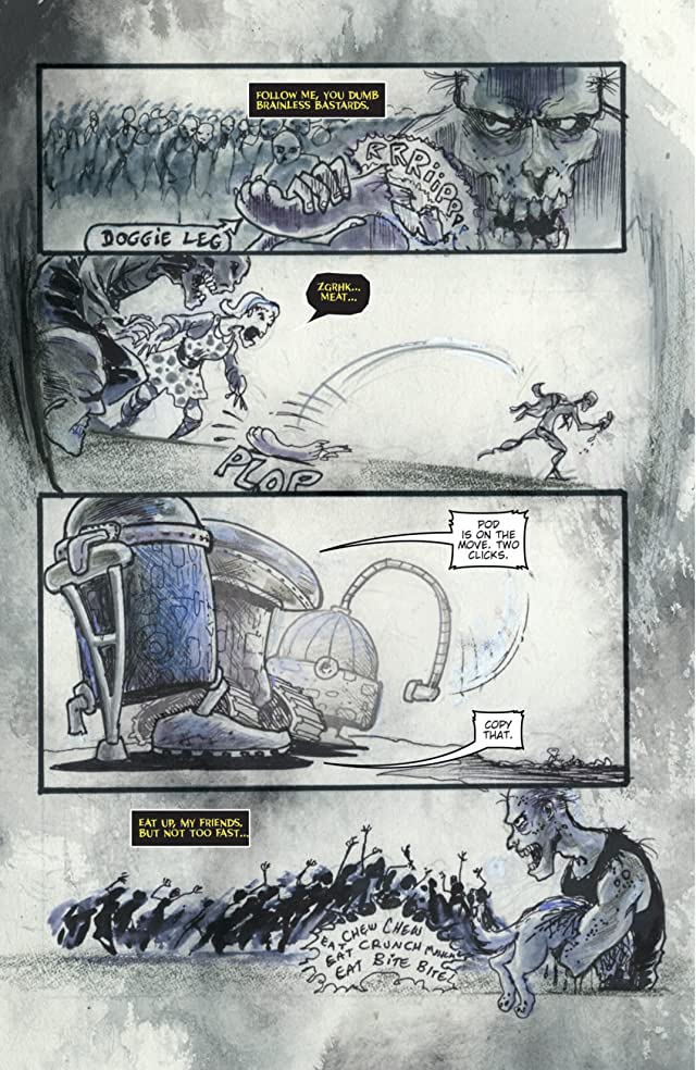 click for super-sized previews of Zombies vs. Robots: Annual 2012