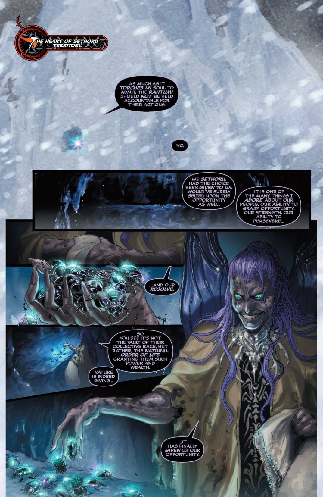 Soulfire: Shadow Magic #0 (of 5)