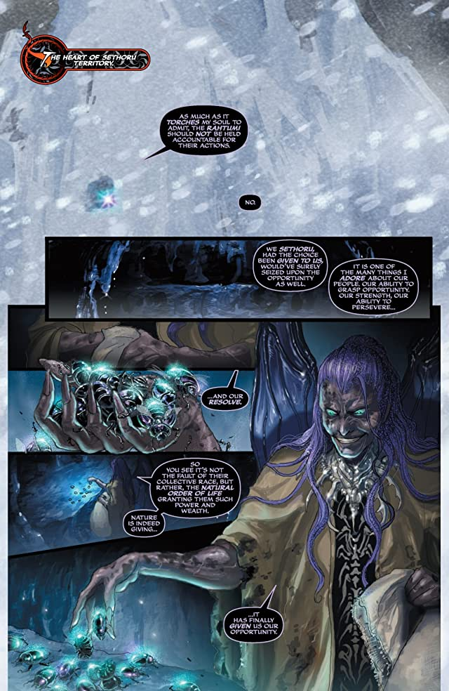 click for super-sized previews of Soulfire: Shadow Magic #0 (of 5)