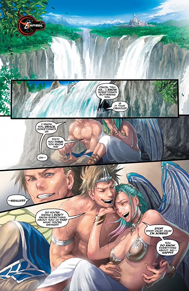 click for super-sized previews of Soulfire: Shadow Magic #0