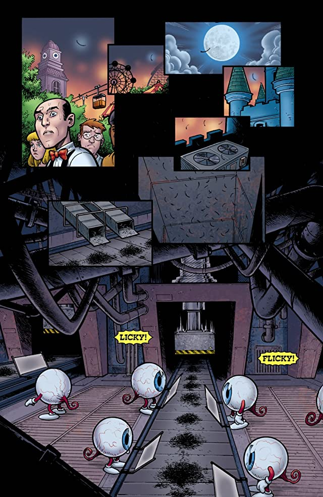 click for super-sized previews of Seaguy: The Slaves of Mickey Eye #3