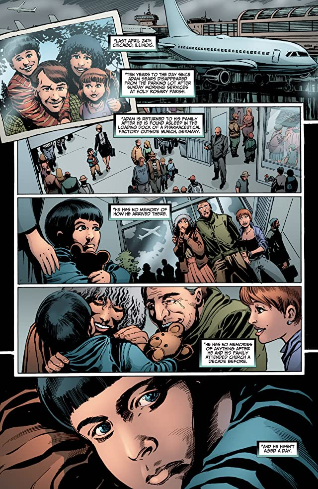 click for super-sized previews of Fringe #0 (of 6)
