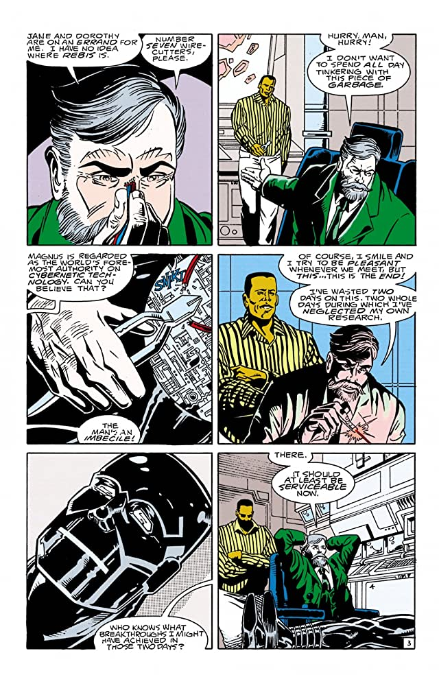 click for super-sized previews of Doom Patrol (1987-1995) #34
