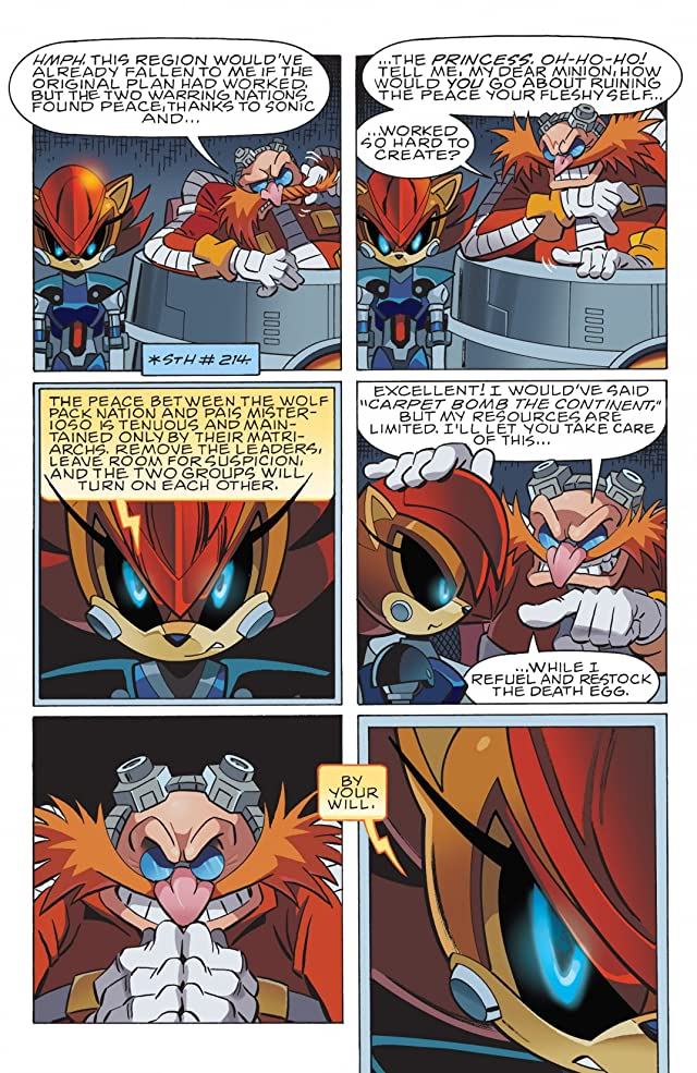 click for super-sized previews of Sonic the Hedgehog #237