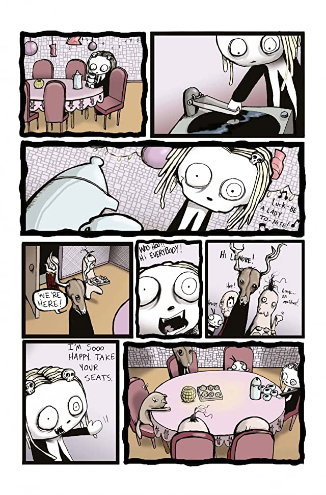 click for super-sized previews of Lenore #5