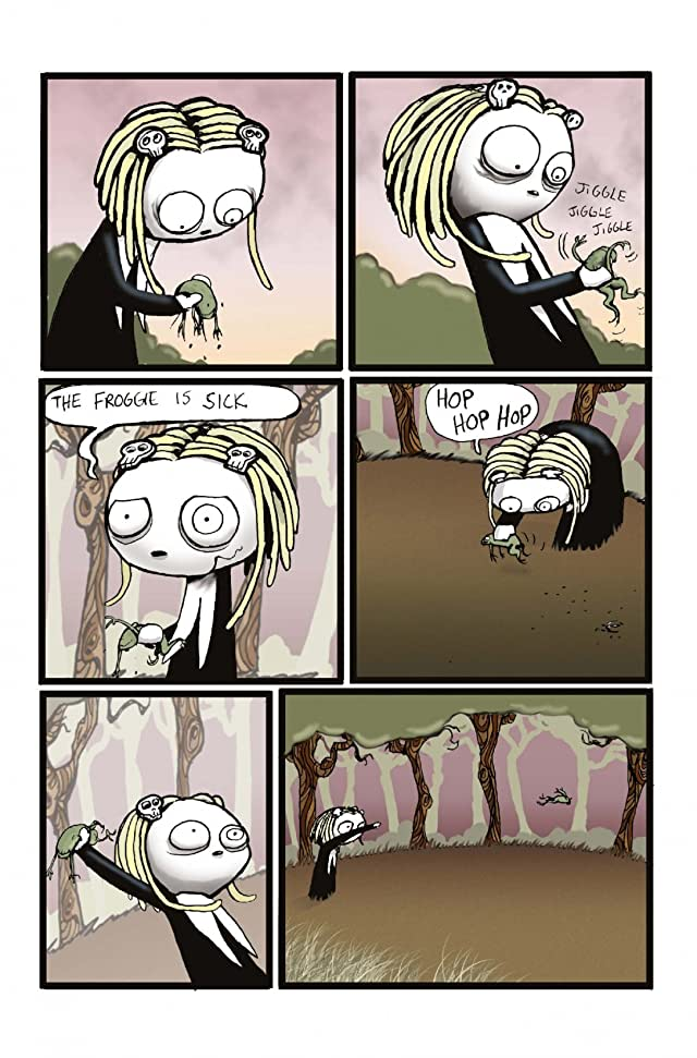 click for super-sized previews of Lenore #8