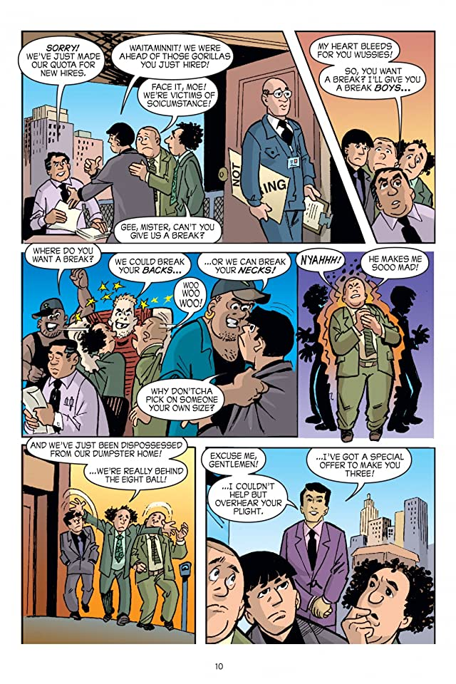 click for super-sized previews of The Three Stooges Vol. 1: Bed Bugged Preview