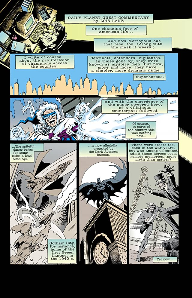 click for super-sized previews of DC Comics Presents: Superman - Sole Survivor #1