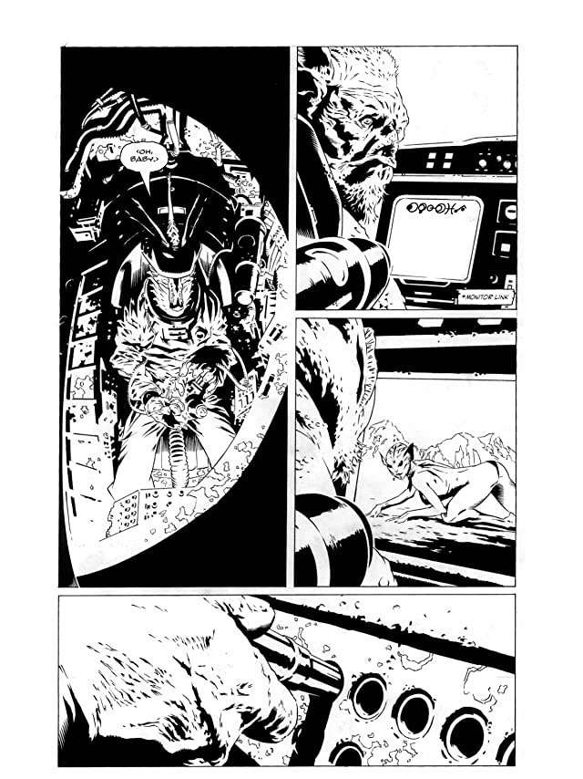 click for super-sized previews of Bad Planet (Black and White) Vol. 1