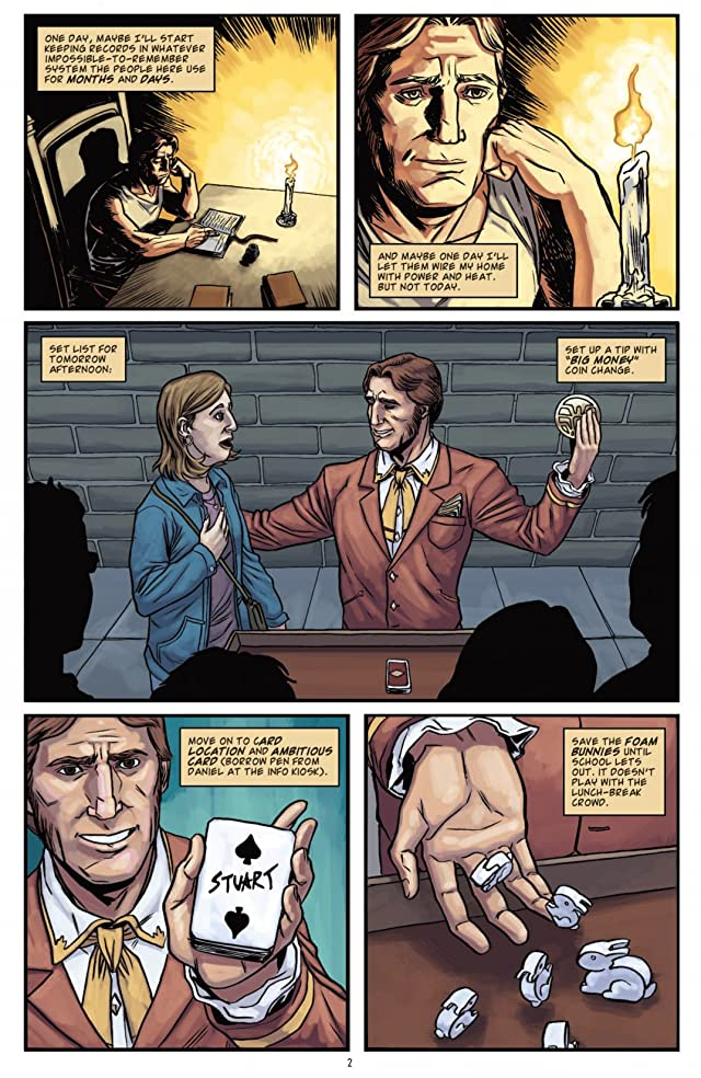 click for super-sized previews of Smoke and Mirrors #3 (of 5)