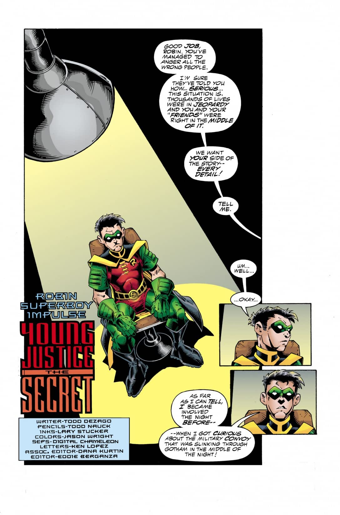 DC Comics Presents: Young Justice #2