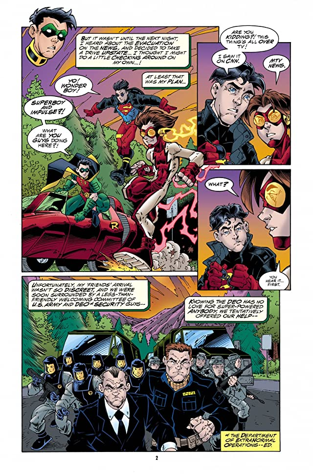 click for super-sized previews of DC Comics Presents: Young Justice #2
