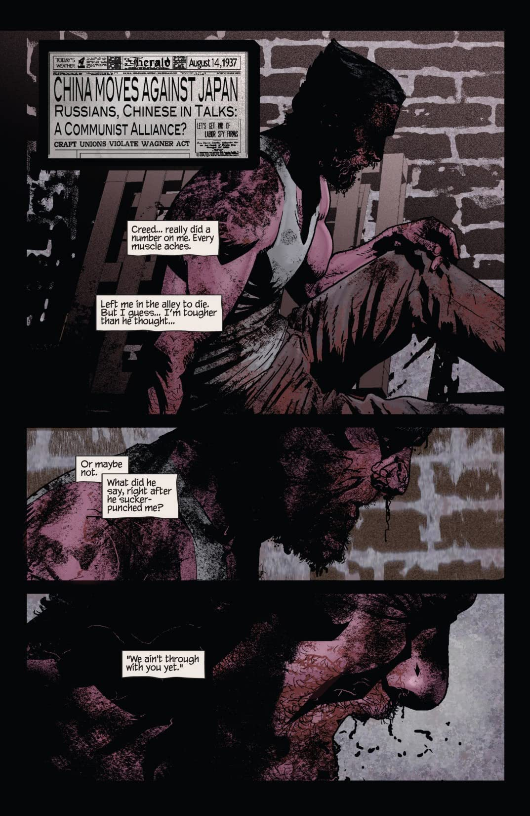 Wolverine Noir #3 (of 4)