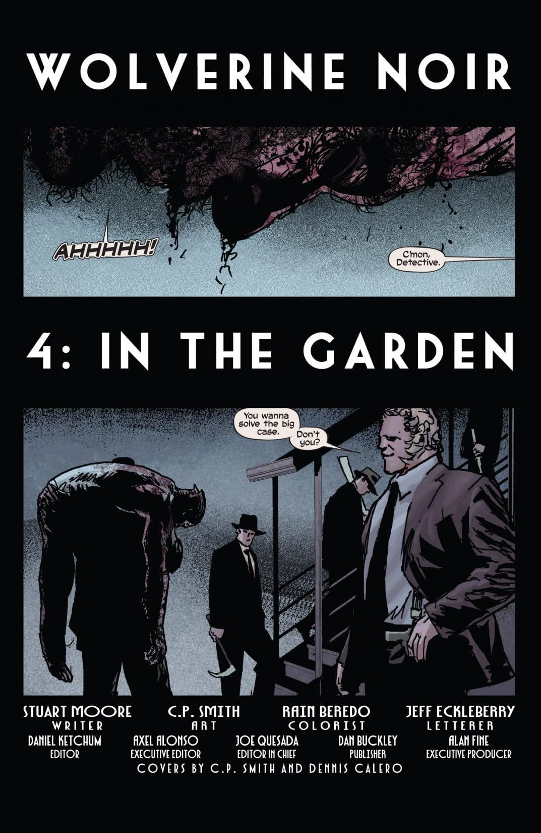 Wolverine Noir #4 (of 4)