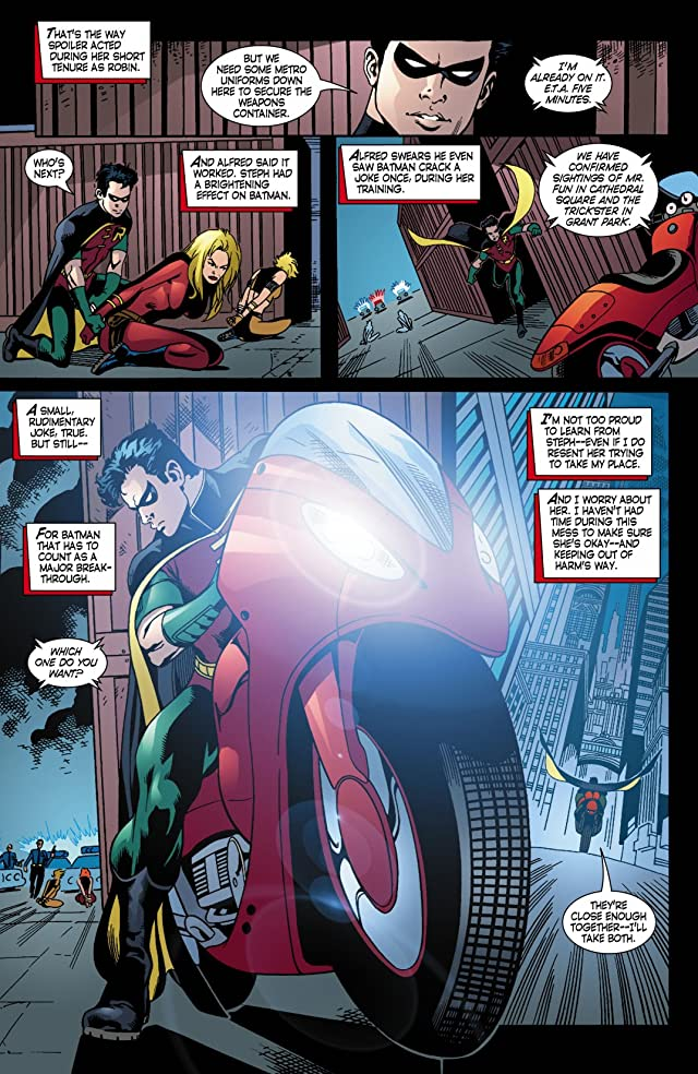 click for super-sized previews of Robin (1993-2009) #131