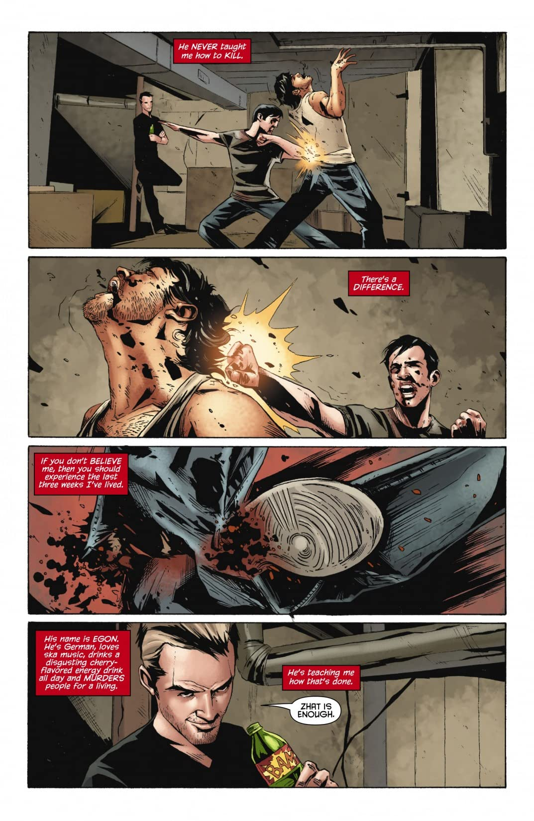 Red Hood: Lost Days #3 (of 6)
