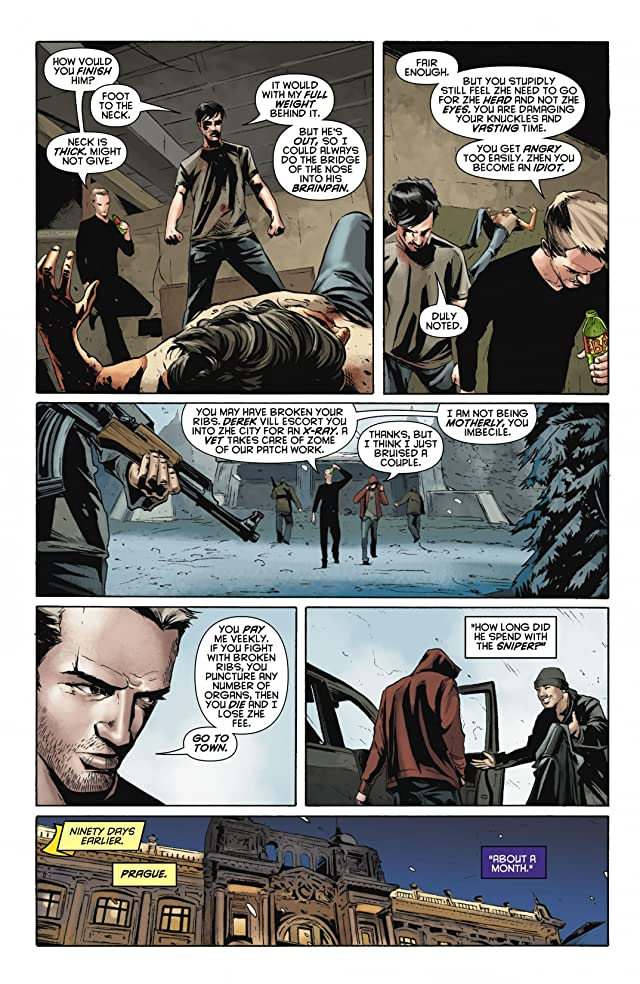 click for super-sized previews of Red Hood: Lost Days #3