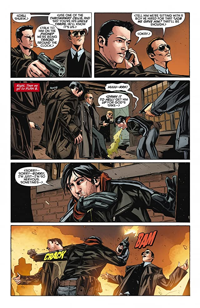 click for super-sized previews of Red Hood: Lost Days #5