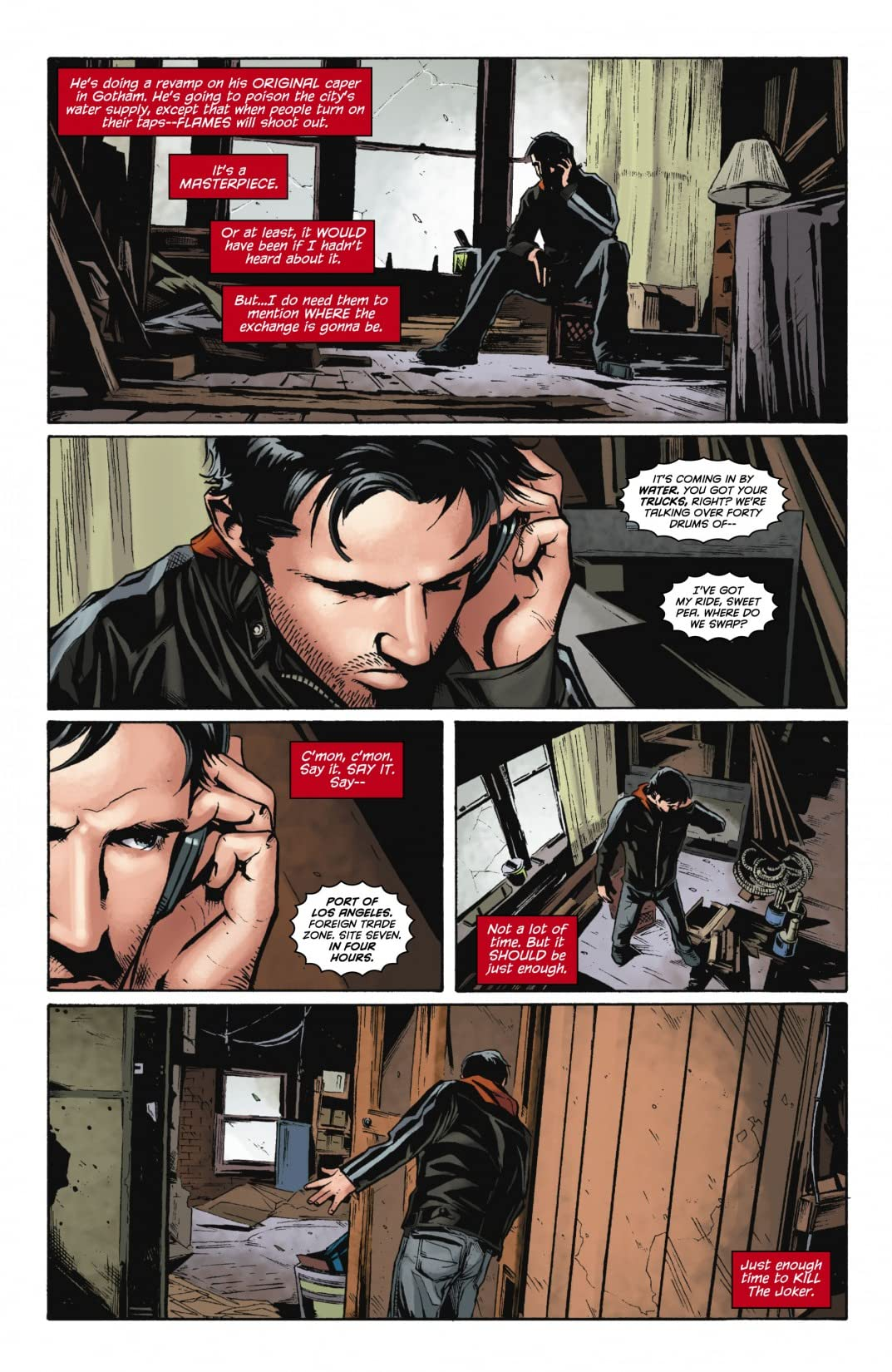 Red Hood: Lost Days #6 (of 6)
