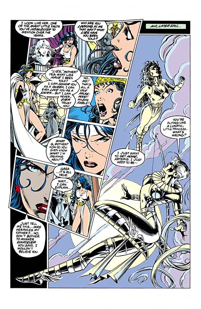 click for super-sized previews of Wonder Woman (1987-2006) #93