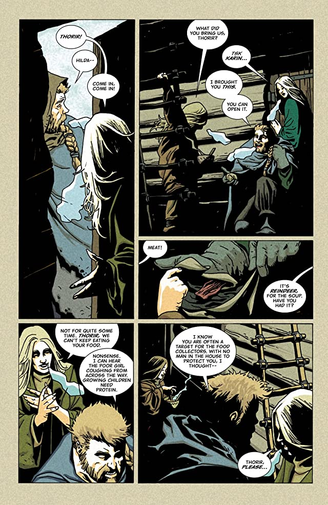 click for super-sized previews of Northlanders #24