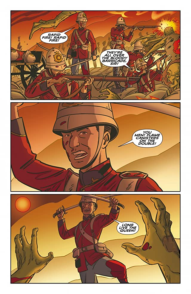 click for super-sized previews of The New Deadwardians #3