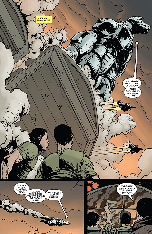 click for super-sized previews of Godzilla: Gangsters and Goliaths #5 (of 5)