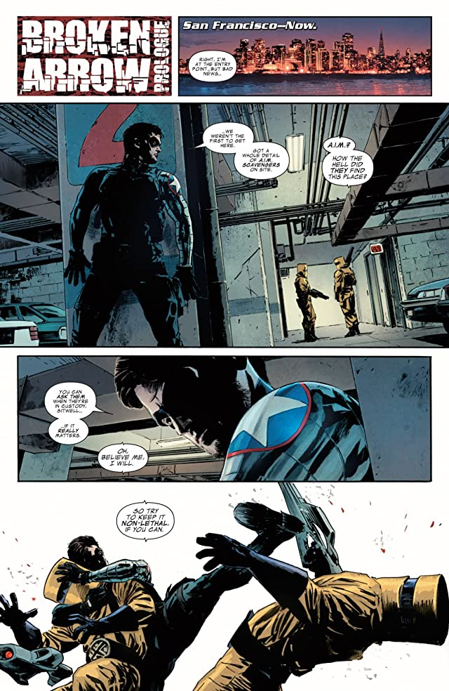click for super-sized previews of Winter Soldier #6