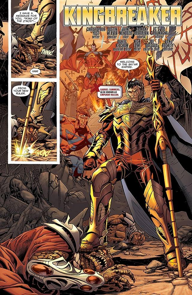 click for super-sized previews of X-Men: Kingbreaker #1