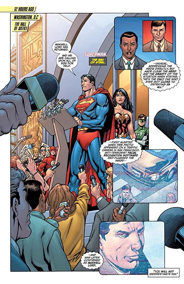 click for super-sized previews of Justice League: Generation Lost #1