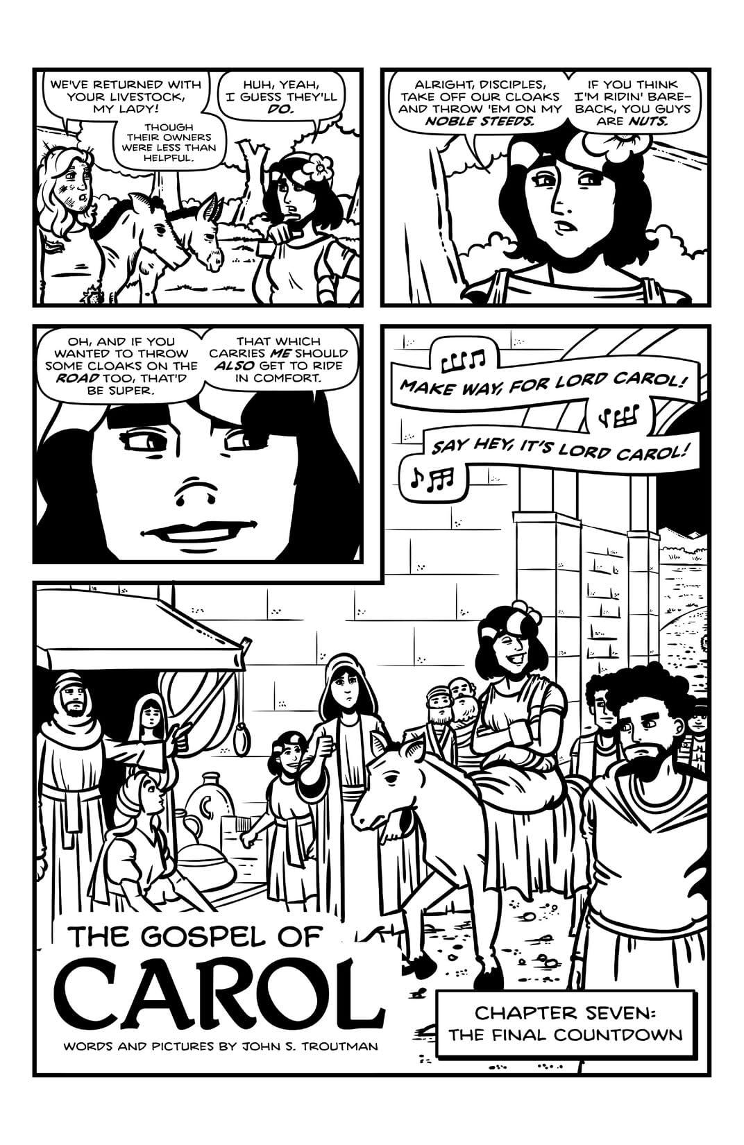 The Gospel of Carol #7