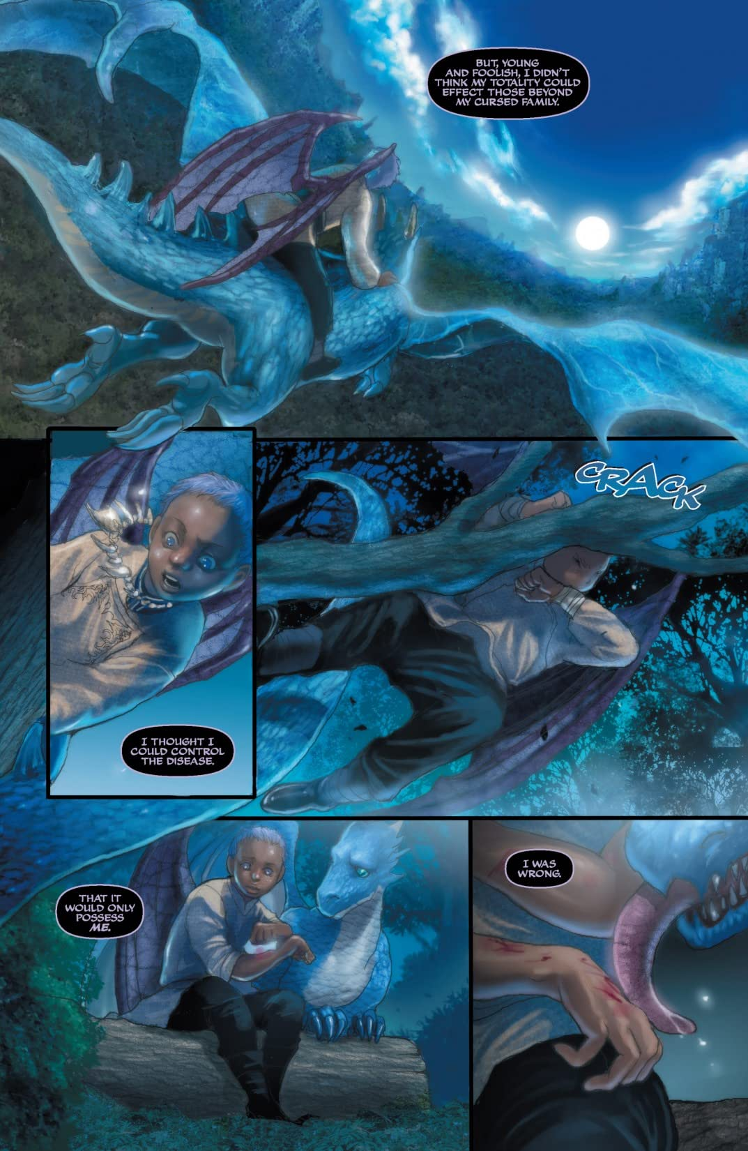 Soulfire: Shadow Magic #3 (of 5)