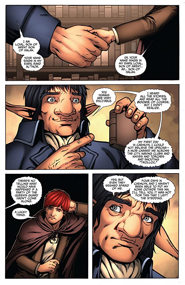 click for super-sized previews of Robert Jordan's Wheel of Time: Eye of the World #26
