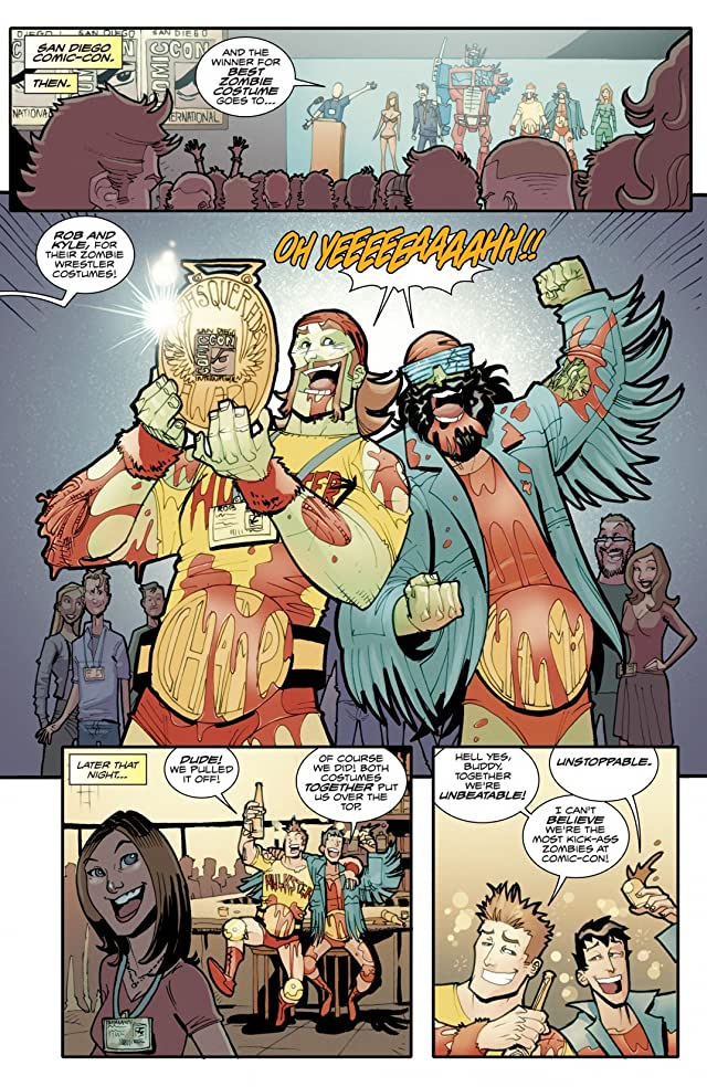 click for super-sized previews of Fanboys vs. Zombies #3