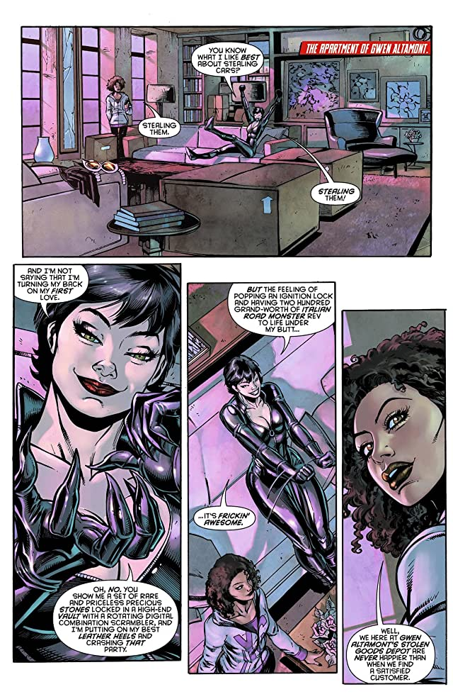 click for super-sized previews of Catwoman (2011-) #7