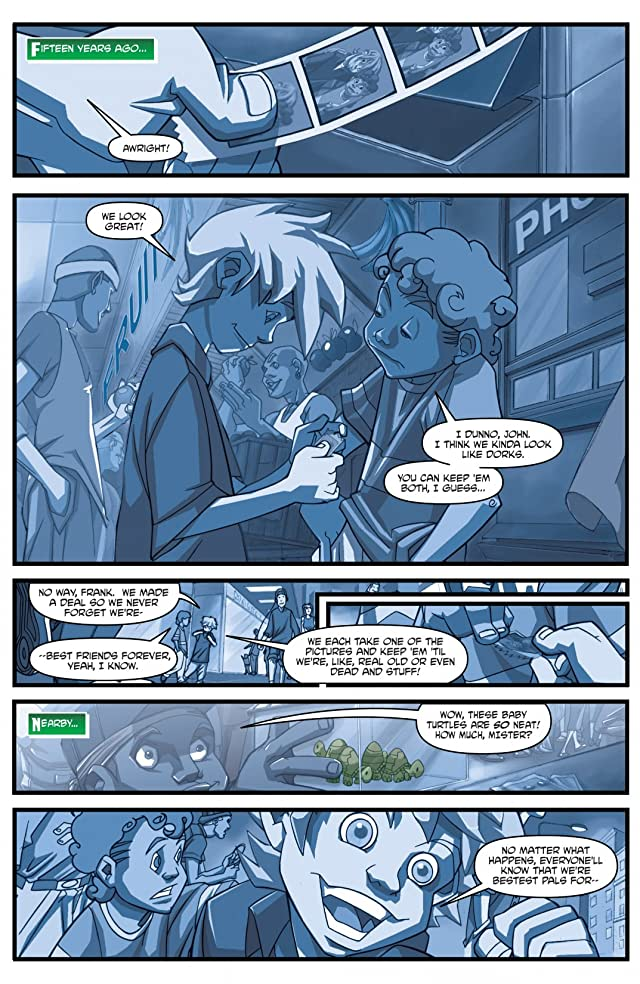 click for super-sized previews of Teenage Mutant Ninja Turtles: Animated 2003 #1