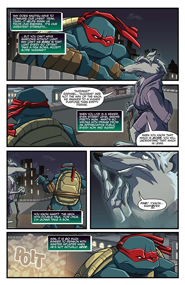 click for super-sized previews of Teenage Mutant Ninja Turtles: Animated 2003 #5
