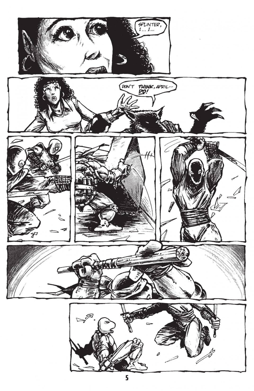 Teenage Mutant Ninja Turtles: Black & White Classics Vol. 4