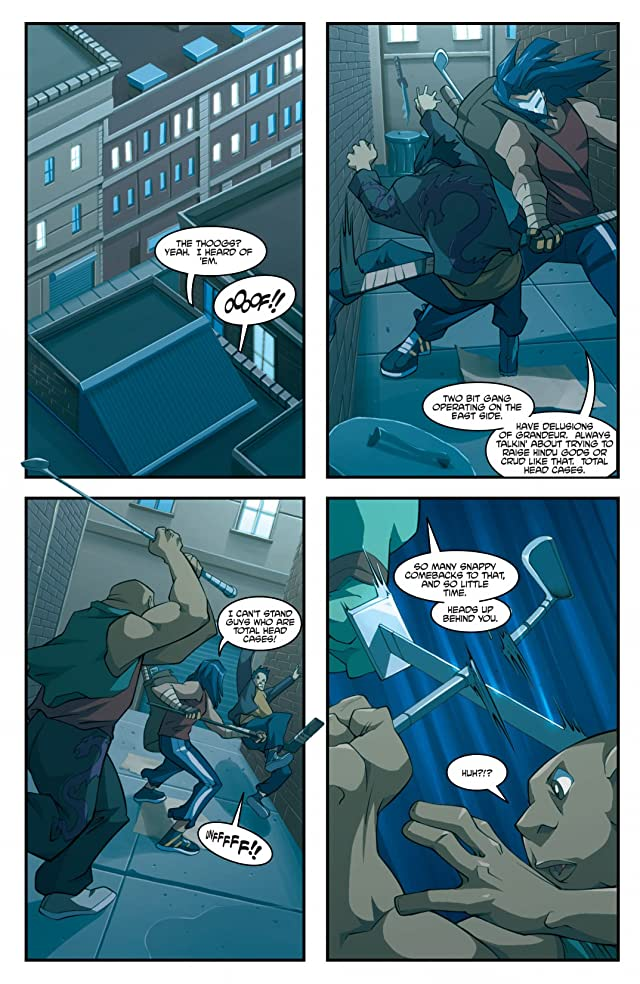 click for super-sized previews of Teenage Mutant Ninja Turtles: Animated 2003 #7
